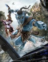 James Cameron's Avatar: The Game - Magazine Cover by meduzarts