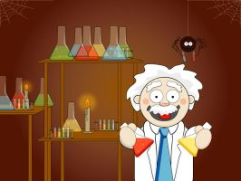 Mad Scientist. by Tabbathehutt