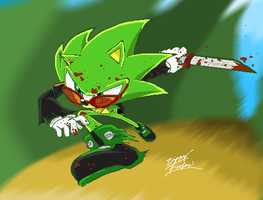 Scourge is a Savage by 5courgesbestbuddy