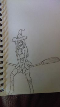 crazy witch  by jables89