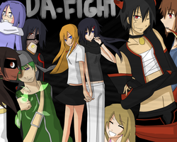 DA FIGHT CHAT CHARACTERS by xYorutenshi