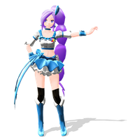[MMD] Cure Berry V2 + DL by Omori-P