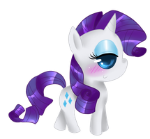 Chibi Rarity by That-Pony-Girl