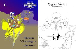 OS: Original Comic, Covers 1-2 by KH-TheKeybladeWar