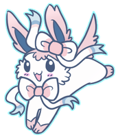 Sylveon by LeLittleLuna