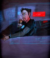 Tony Stark by jaymetwins
