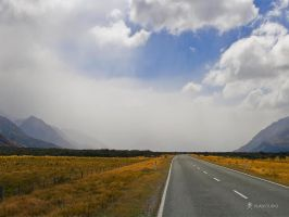 The Road to Aoraki by vladstudio