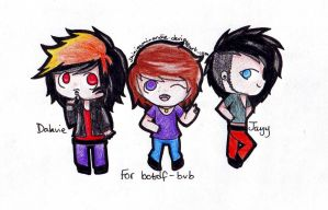 For botdf-bvb chibis by shinigamixandie