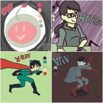Xray And Vav pallet drawings by Raysketchit94
