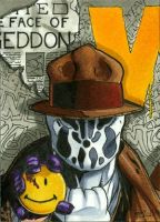 Rorschach PSC, Watchmen 1 of 6 by RichardCox