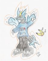 .:Request:. Kyurem with clothes by MikoKawaii