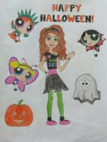 Happy Halloween from the PPG and Jessie! by PPGandJessie