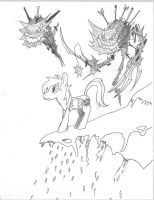 Deviants of Art - What happened to Ponyville? by EB-the-GAMER