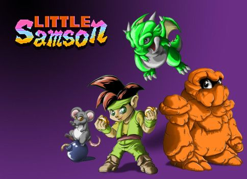 Little Samson and Co. by dragonfetus