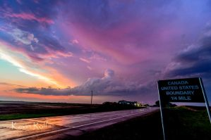 Color Across the Canadian Border by Bvilleweatherman