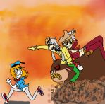 3 Caballeros by QweXTheXEccentric