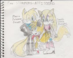 Request exception - Tails older siblings by AnimeVideoGamesFan37