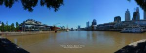 Puerto Madero, Buenos Aires. by Gabrielb1984
