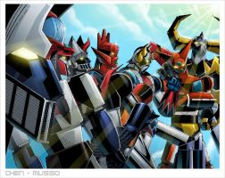 SR Group 3 by Chen/REX-203 by Robot-Japan