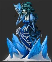 Ice Witch by CamaraSketch