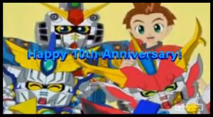 SD Gundam Force 10th Anniversay (AMV) by blazeraptor