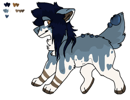 Blueberry Cheesecake Point Auction [CLOSED] by N3ITHER-ADOPTS