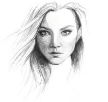 Natalie Dormer by februarymoon