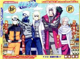 Naruto 410 cover by Thecmelion
