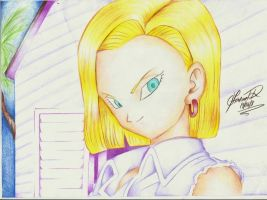 Android 18 by Fernandords