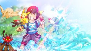 Alola adventures by DanTH