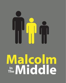Minimal Malcolm in the Middle by rubinator