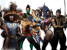 Mortal Kombat 9 by lightwave12