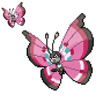 Vivillon Sprite by TacoParty125
