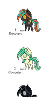 100 Themes - Mystery Pony Adopts - Closed by Feralx1