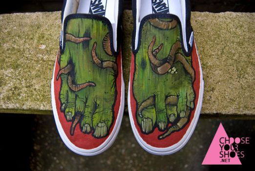 zombie shoes for jordan by mburk