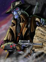 The Notorious Cad Bane by jlonnett