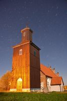 Church in Ostre Bardo (Poland) by anoru