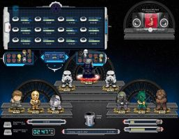 Star Wars Animated Skin by Gefsoft
