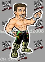 eddie guerrero color by abnormalchild