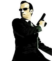 Agent Smith Vector by NeeCoaLa