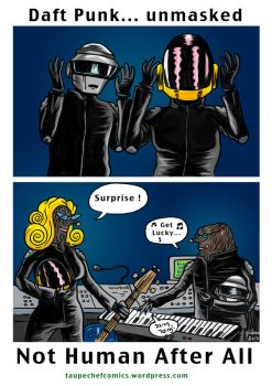 Daft Punk Unmasked by gilderic