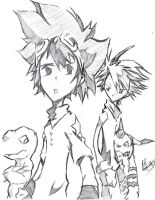 Digimon: My Forever by Tazartist19