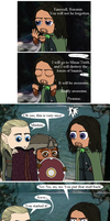 LOTR: Don't Take That Dinghy by Kumama