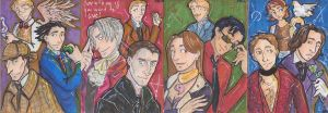 Cosplay sketch cards by triumph-forks