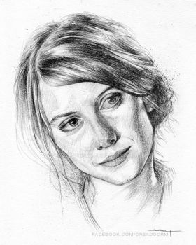 Melanie Laurent by Creadoorm