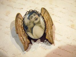 Lovers Flight Brooch by asunder
