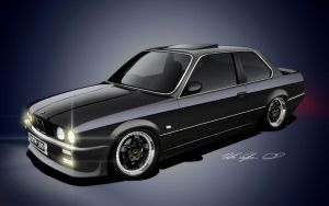 Bmw e30 325i by dazza-mate