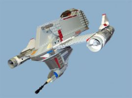 Lego Starfighter by Ryan-Rhodes