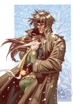 Gambit and Rogue Print by CeeCeeLuvins