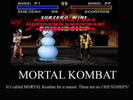There Are No Friendships in Mortal Kombat by kazekageAWESOMENESS